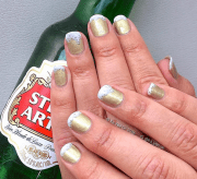 nail art national drink beer