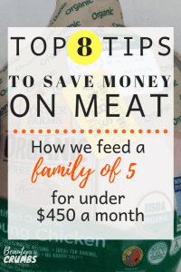 top 8 tips to save money on meat, how to save on foods, how to save money on groceries, budgeting