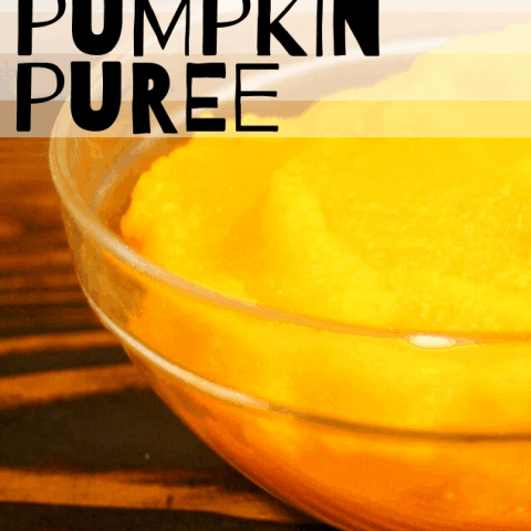 Easy Pumpkin Puree in the Oven