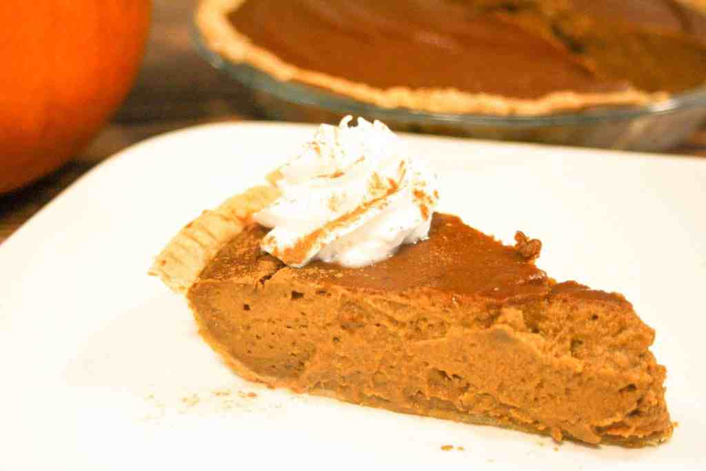 The absolute best gluten-free and dairy-free pumpkin pie recipe. No one will be able to tell the difference! Sign up to receive a FREE Thanksgiving Ebook full of delicious gluten-free and dairy-free recipes!