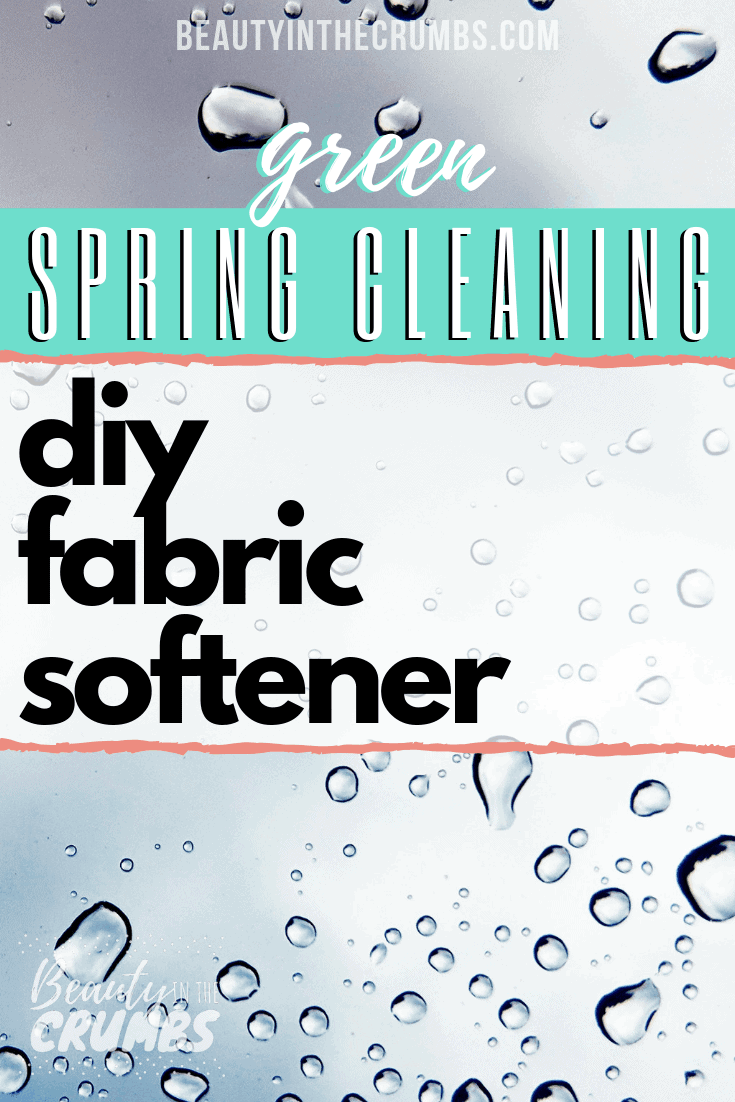Natural non toxic fabric softener and dryer sheet alternative
