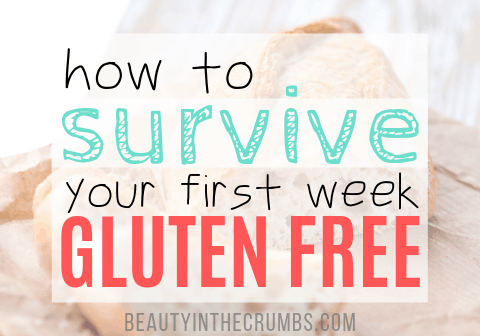 how to survive first week of gluten free