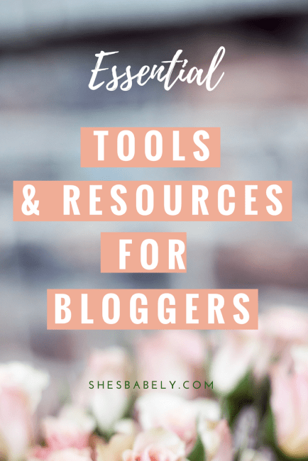 Essential Tools for Bloggers - Blogging tools - How to start a blog the right way so you can earn money from it | monetize | blogging | tips | make money blogging | | www.beautyisgf123.com