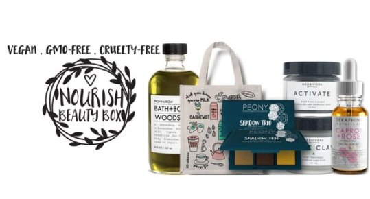 Nourish Beauty Box - best subscription boxes - cruelty-free beauty box subscriptions - vegan beauty box - vegan subscription box - unboxing subscription box review | beautyisgf123.com