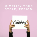 Ellebox organic tampons subscription box delivery monthly period box free coupon - best subscription boxes - beauty box subscriptions - mom subscription box - subscription boxes for moms - unboxing subscription box review | beautyisgf123.com