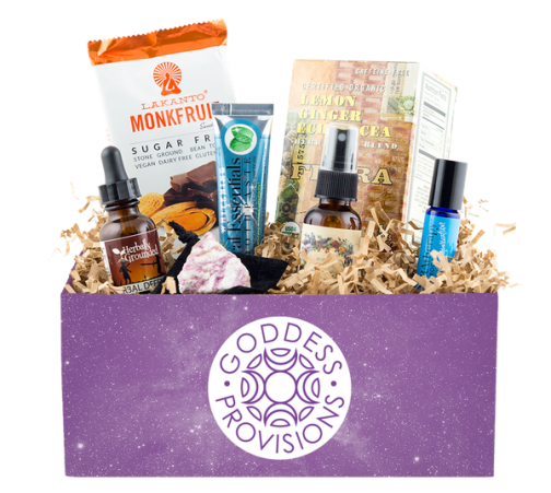 Goddess Provisions - best subscription boxes - cruelty-free beauty box subscriptions - vegan beauty box - vegan subscription box - unboxing subscription box review | beautyisgf123.com