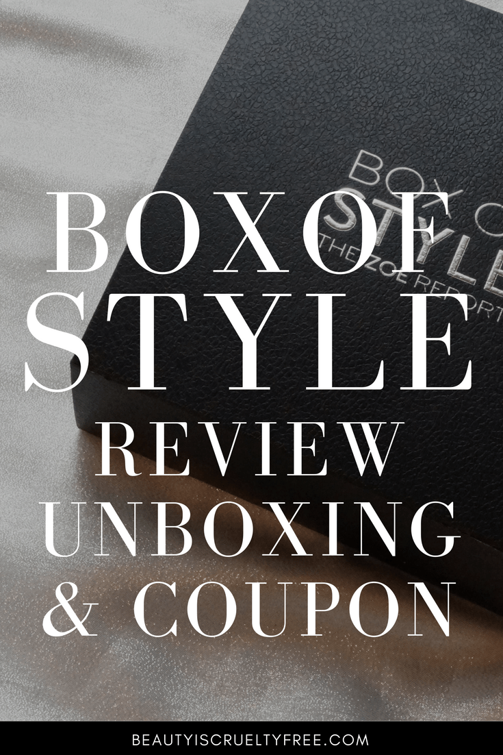 BOX OF STYLE unboxing box of style coupon subscription box promocodes Box Of Style Winter Sneak Peek Plus 20 Coupon - Box Of Style - Review - Zoe Report subscription box - beauty box subscriptions - mom subscription box - subscription boxes for moms - unboxing subscription box review | beautyisgf123.com