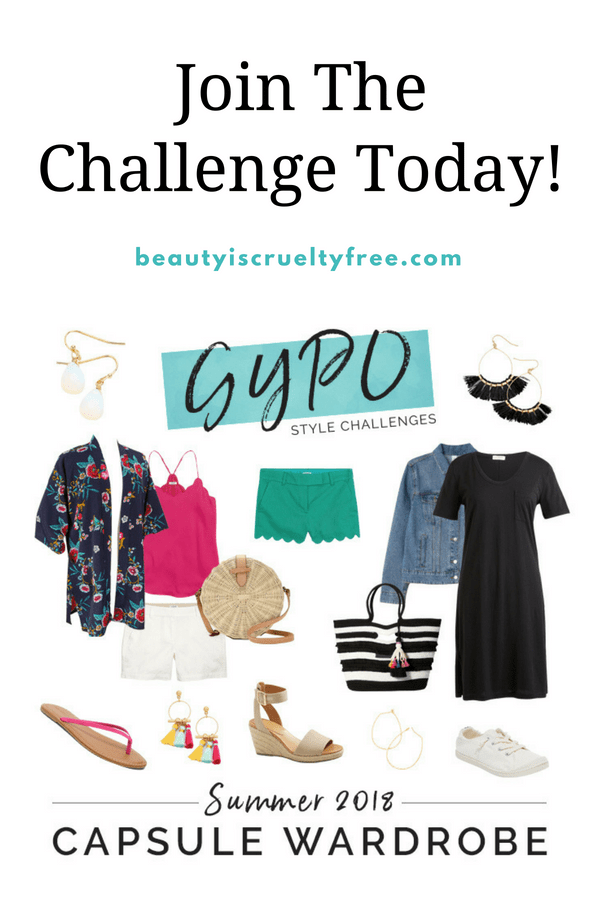 Summer capsule wardrobe style challenge | beautyisgf123.com