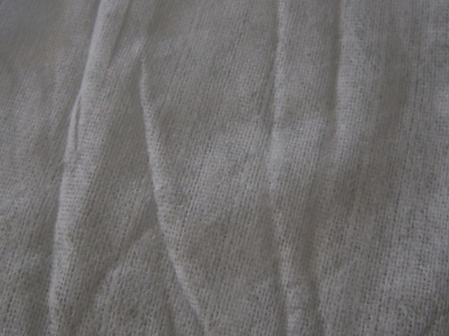 the texture of the wipe sheet