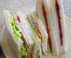 サンドイッチ お弁当 レシピ