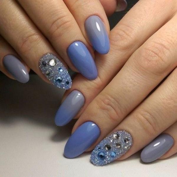 красивый дизайн ногтей на короткие ногти фото 6