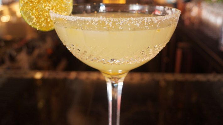 Cocktail Alone - Allaire Privee Royal Gold Margarita at DOA 1