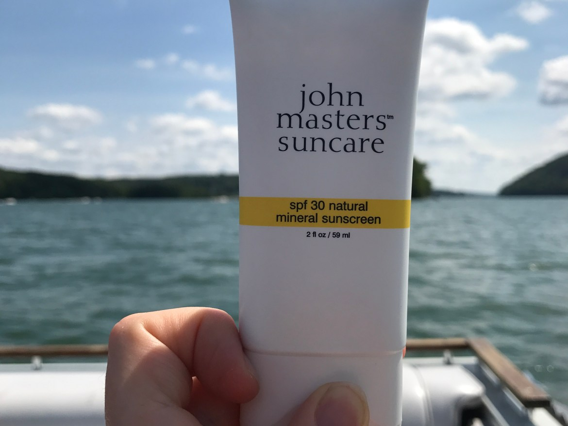 SPF 30 Natural Mineral Sunscreen from John Masters Organics