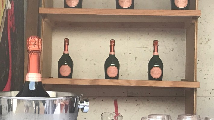 50 Years of Champagne Laurent-Perrier Cuvée Rosé at Roberta's