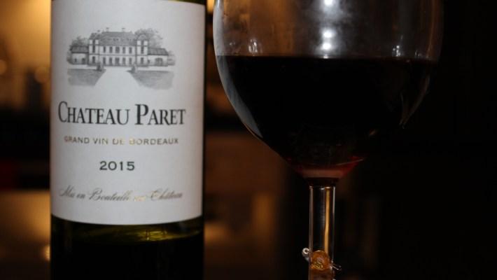 Château Paret AOC Castillon Côtes de Bordeaux 2015