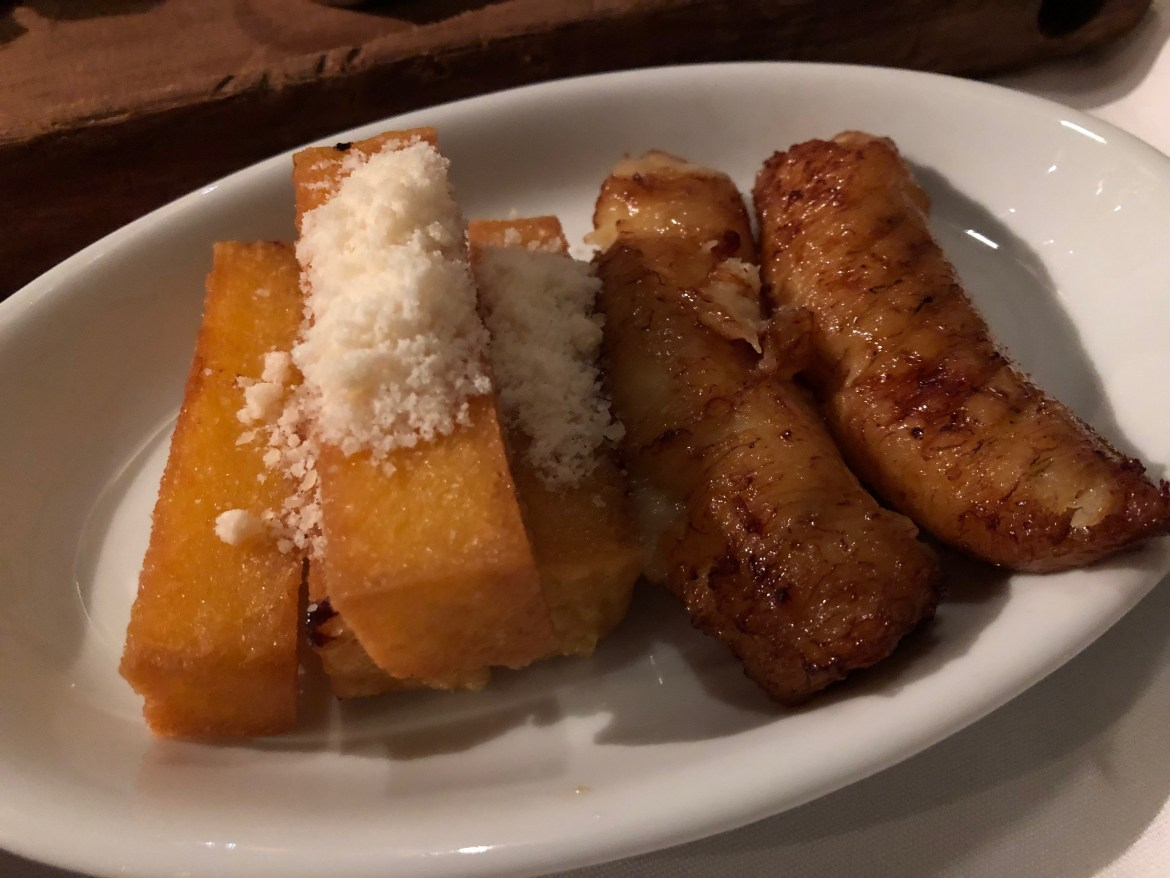 polenta and plantains