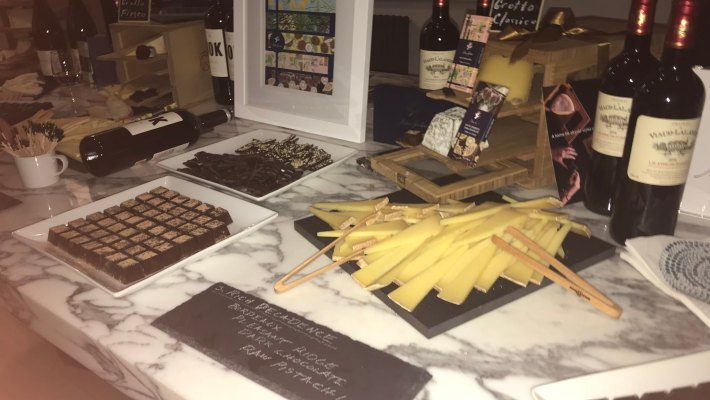 Chocolate & Cheese Party