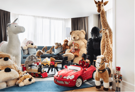 Conrad New York Midtown's FAO Schwarz Holiday Suite, $3,000 per night