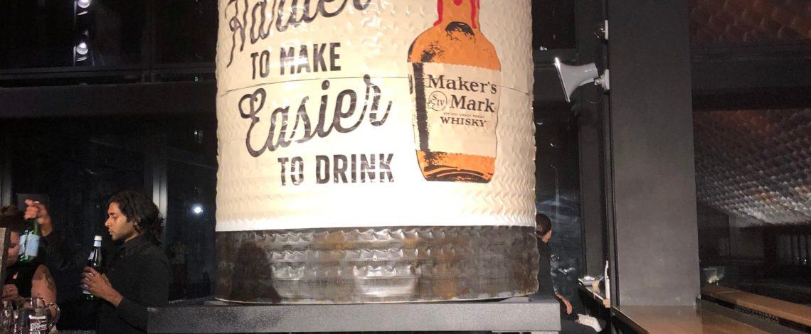Maker's Mark Essex Market Takeover!
