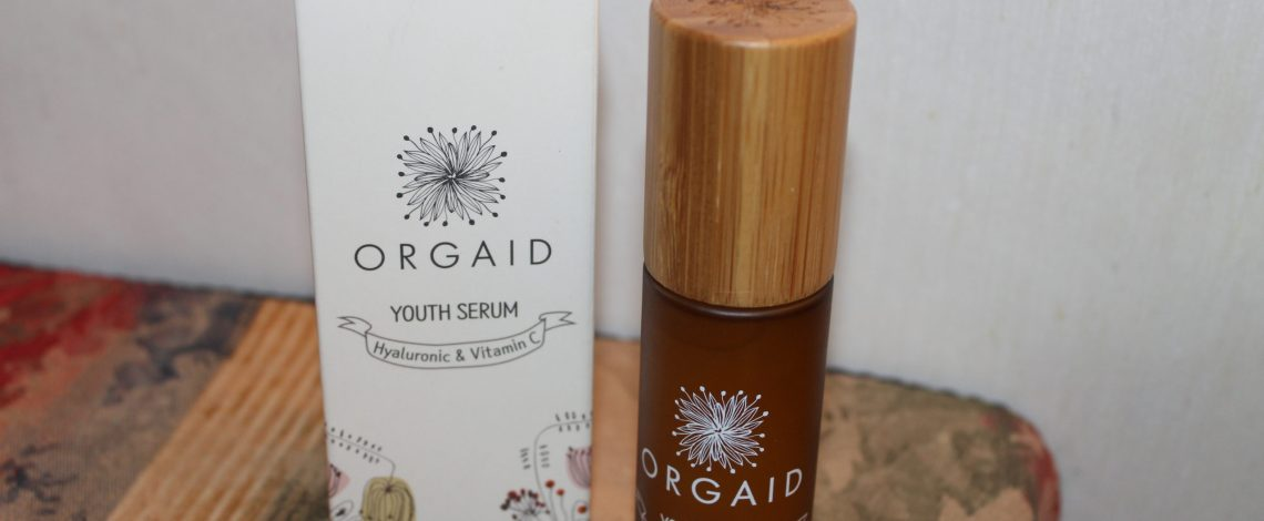 ORGAID Youth Serum with Hyaluronic Acid & Vitamin C
