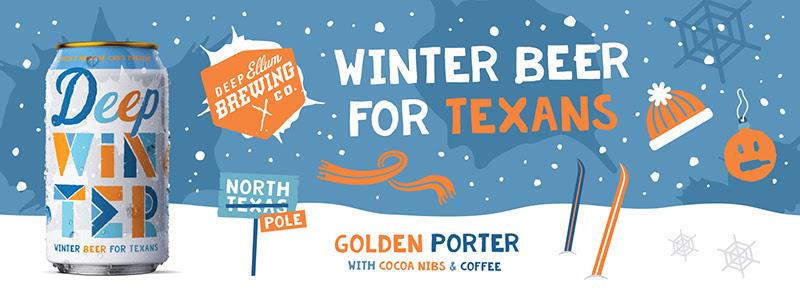 Deep Ellum Brewing Company Releases Deep Winter Golden Porter