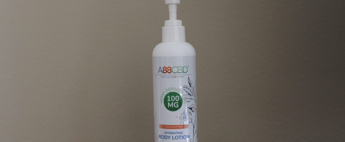 A88CBD Hydrating CBD Body Lotion