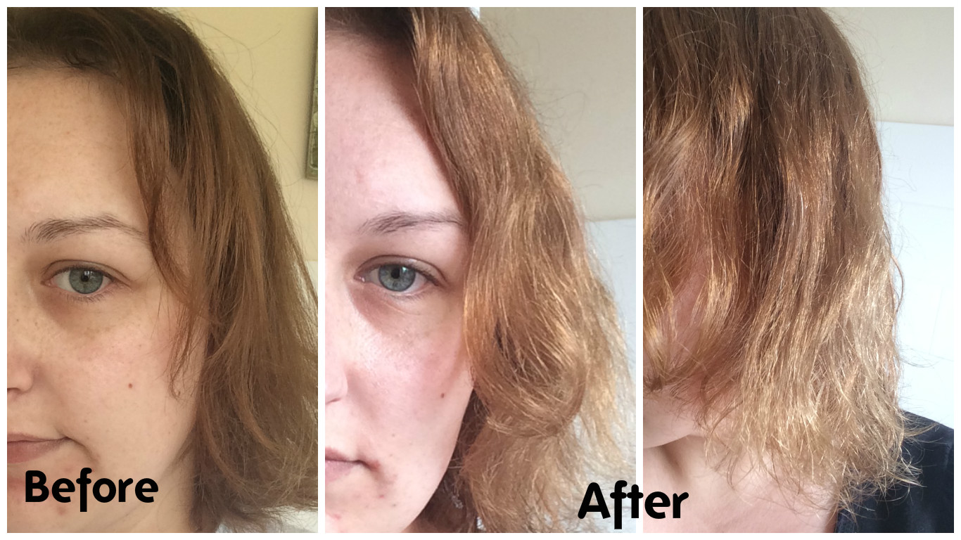 Colourless Max Effect Hair Colour Remover  Review