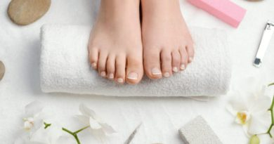 Perfect foot care with the right pedicure set