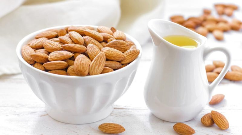 Which type of almond oil good for the skin