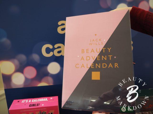 Jack Wills Advent 2017 calendar boots beauty