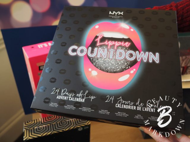 NYX lippie countdown advent calendar boots 2017
