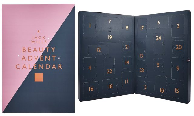 Jack Wills Beauty advent calendar christmas