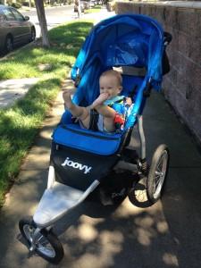Little guy in Joovy Zoom