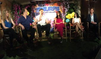 Smurfs movie the lost village cast, Joe Manganiello, demi lovato, ariel winter, jack mcbrayer