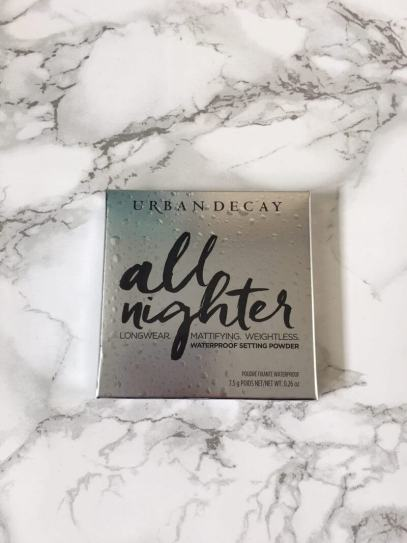 Urban Decay All Nighter Waterproof Setting Powder | Review 1