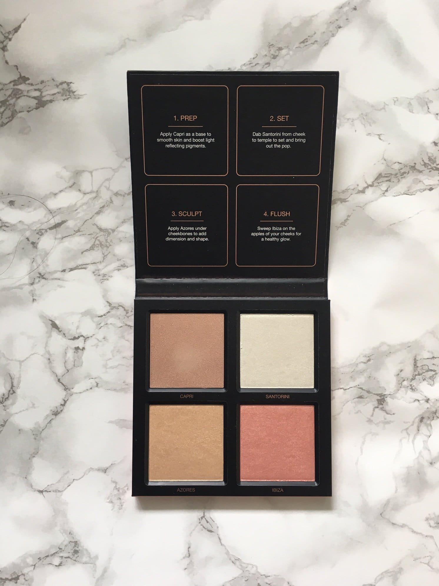 Huda Beauty Highlighter Palette & Eyeshadow Palette | Review 3