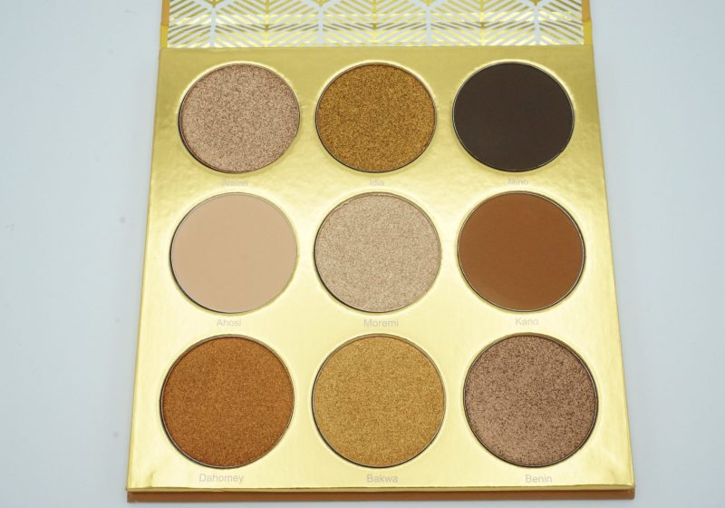 Juvia's Place The Warrior Palette | Review
