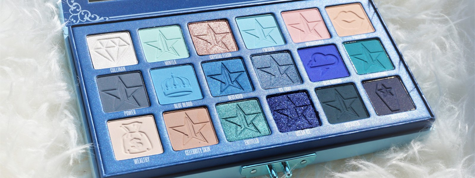 Jeffree Star Cosmetics Blue Blood Palette | Review