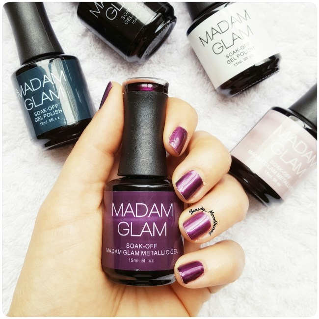 Madam Glam Vernis Gel Semi Permanent