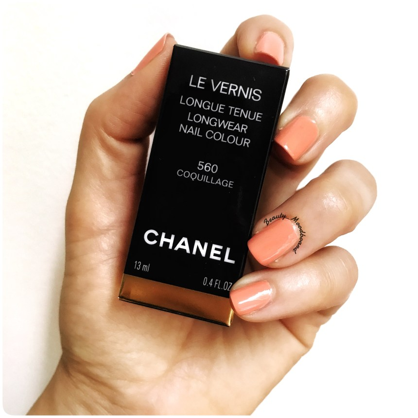 Chanel Le Vernis Cruise 2017 Coquillage 560