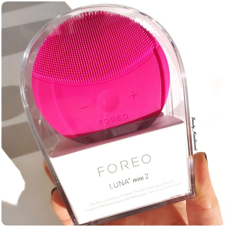 Packaging Foreo Luna Mini 2 coloris rose