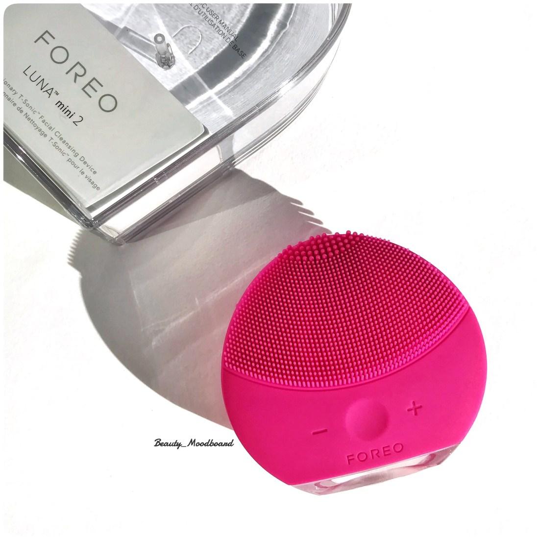 Brosse nettoyantr silicone Foreo Luna Mini 2 Rose