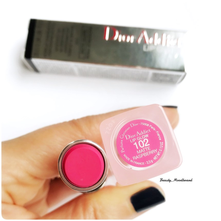 Dior Addict Lip Glow 102 Matte Raspberry