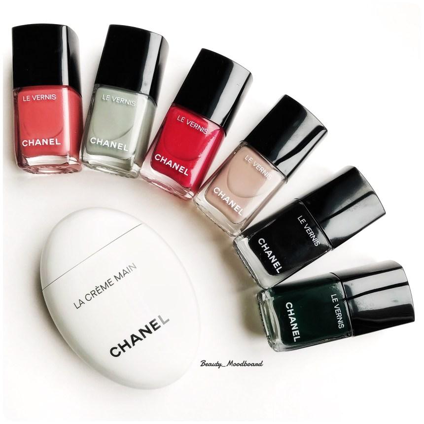 Vernis Chanel et soin hydratant pour les mains
