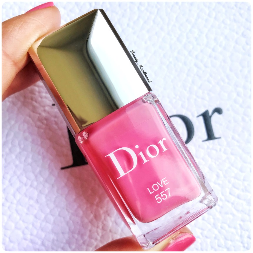 Vernis Dior Glow Addict Collection Love 557