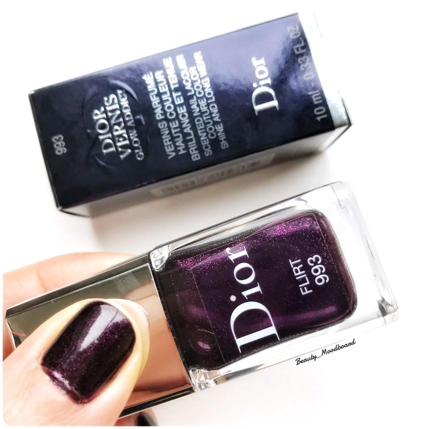 Dior Vernis Flirt 993 collection Glow Addict Spring 2018