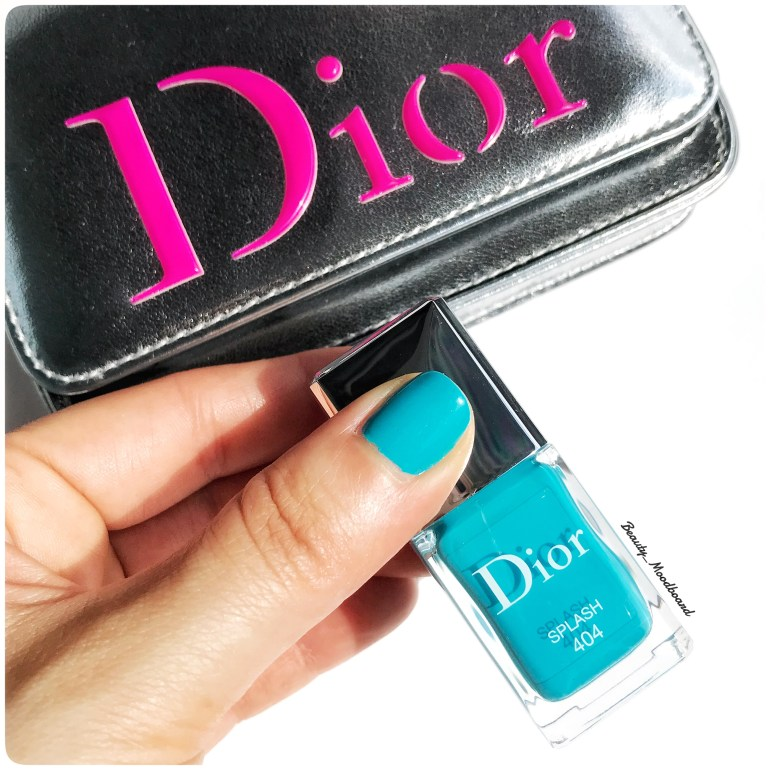 Dior Vernis Splash 404 collection Cool Wave Eté 2018