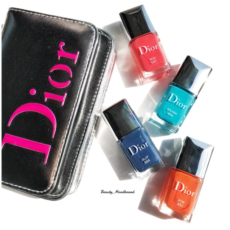 Dior Vernis Collection Cool Wave Eté 2018