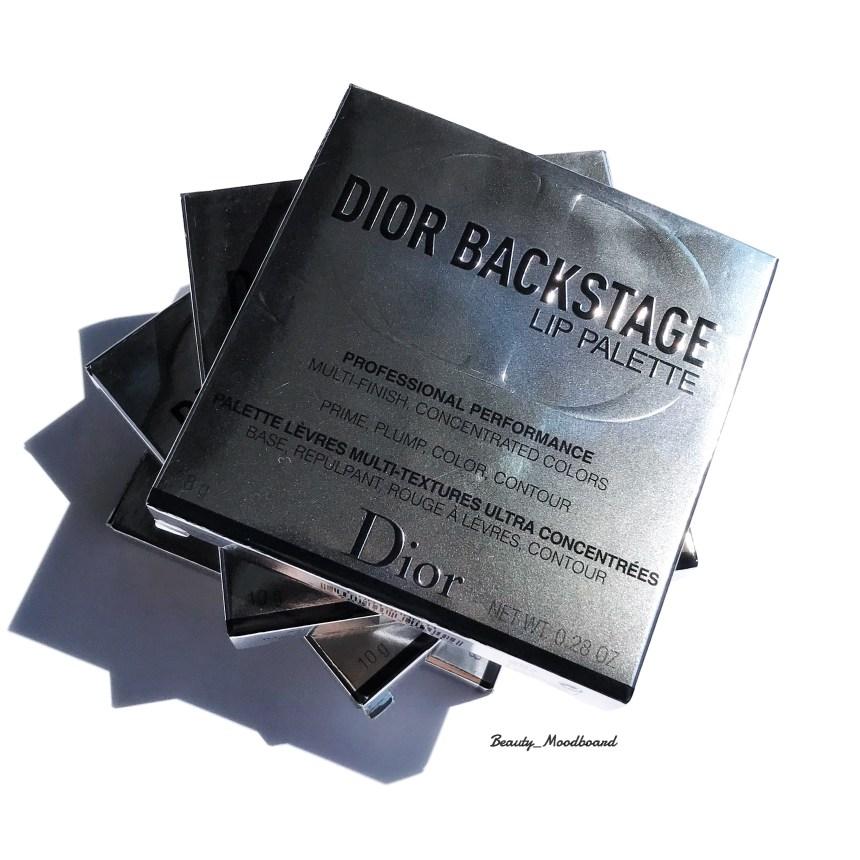 Lip Palette maquillage Dior nouveautés