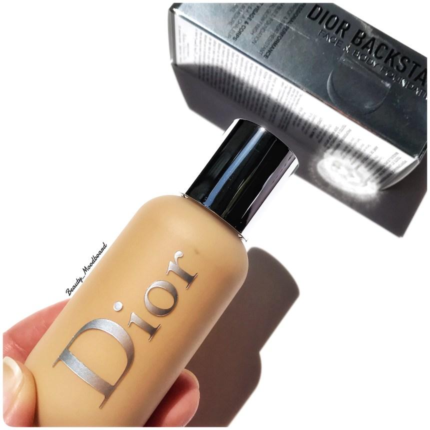 Nouveau fond de teint Dior Makeup teinte 3WO
